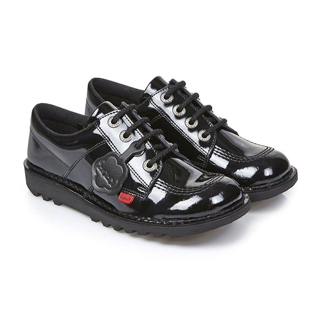 9c9a9efc99 Kick Lo Core Patent Black/Black Junior