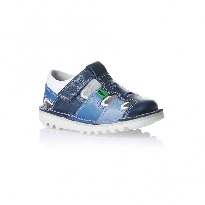 Kickers Kick Sundal Infant Dark Blue, a sun-sational choice for warmer weather
