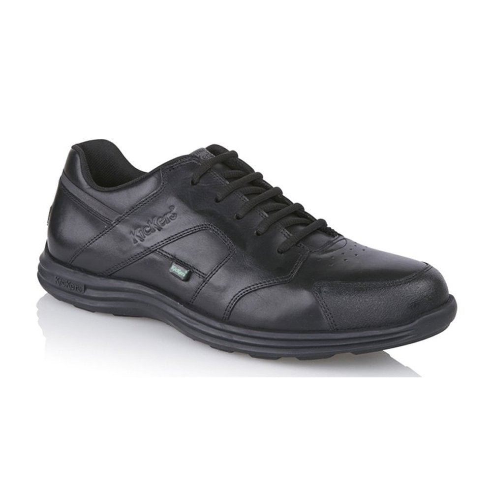 Kickers Laced School Shoes