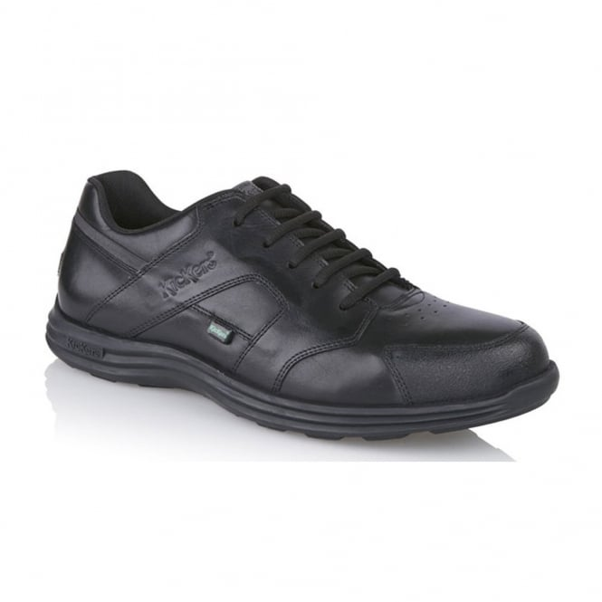 Kickers Men's Seasan Lace up Black, ideal work or school shoe