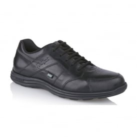 Men's Seasan Lace up Black, ideal work or school shoe