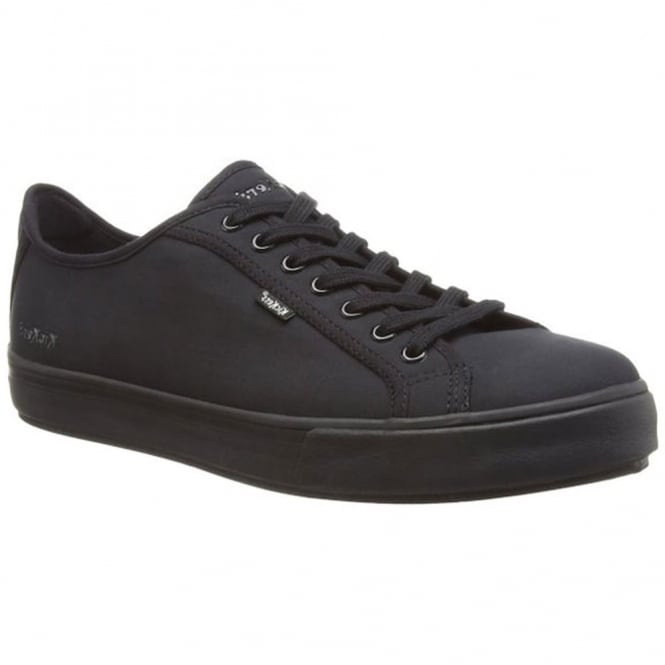 Kickers Mens Tovni Lacer Text BLack/Black, sneaker style