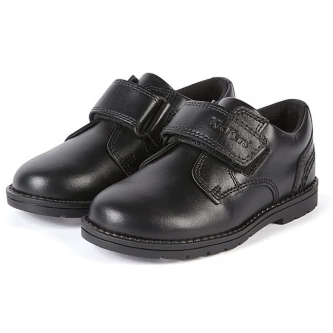 Kickers Orin Strap Black Infant