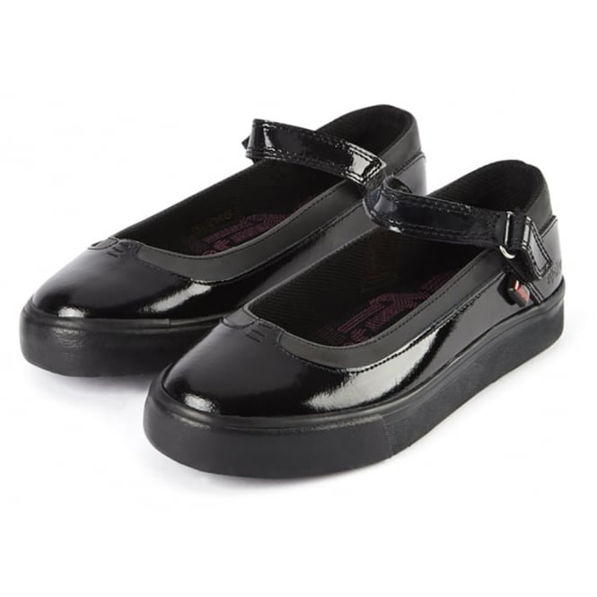 Kickers Tovni MJ Patent Black Junior