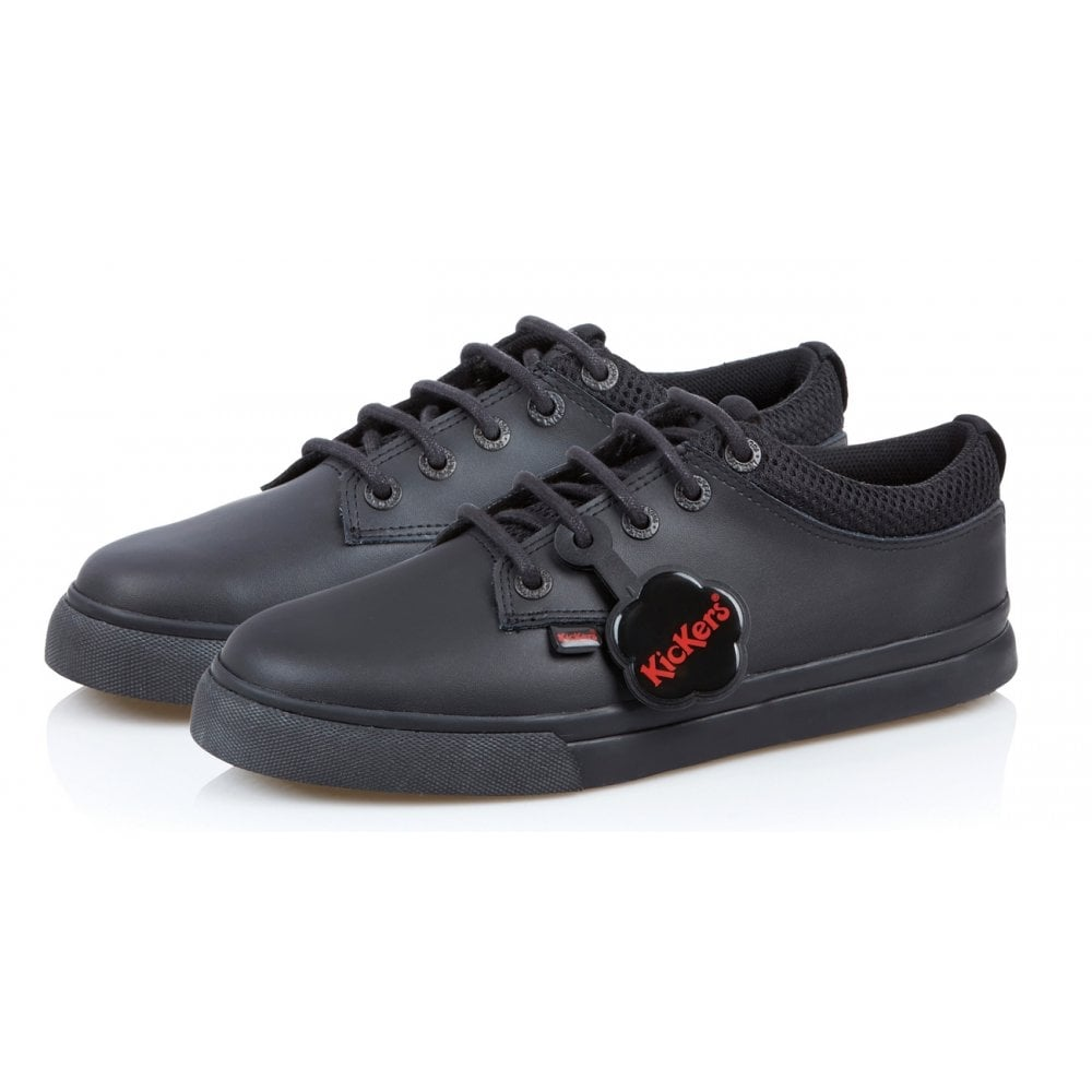 Leather Kickers Shoes Junior