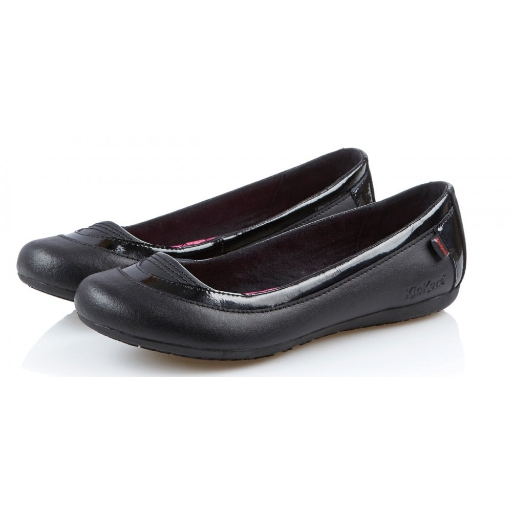 Verda V Black, pump style school or