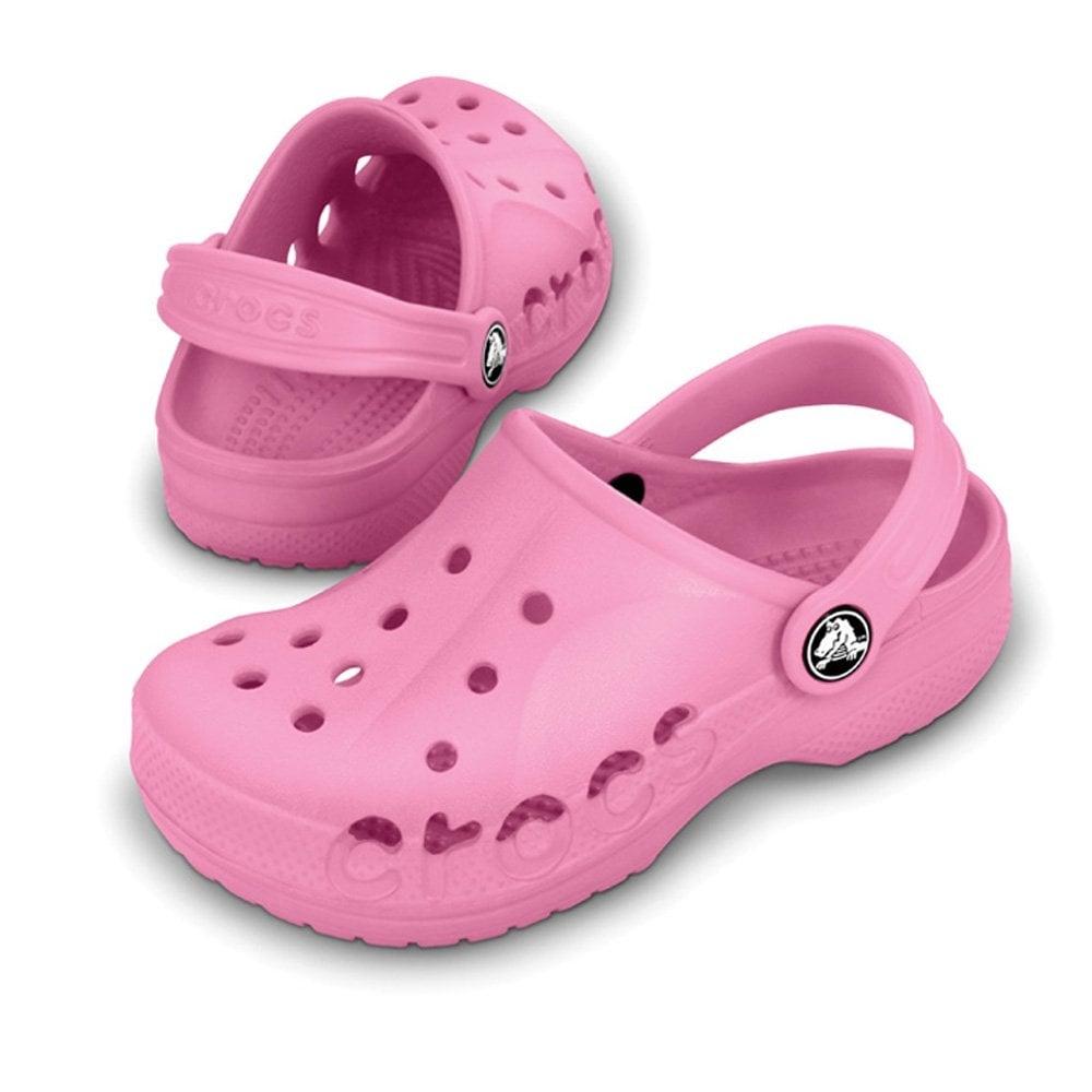 077056db9c6081 Crocs Kids Baya Shoe Pink Lemonade