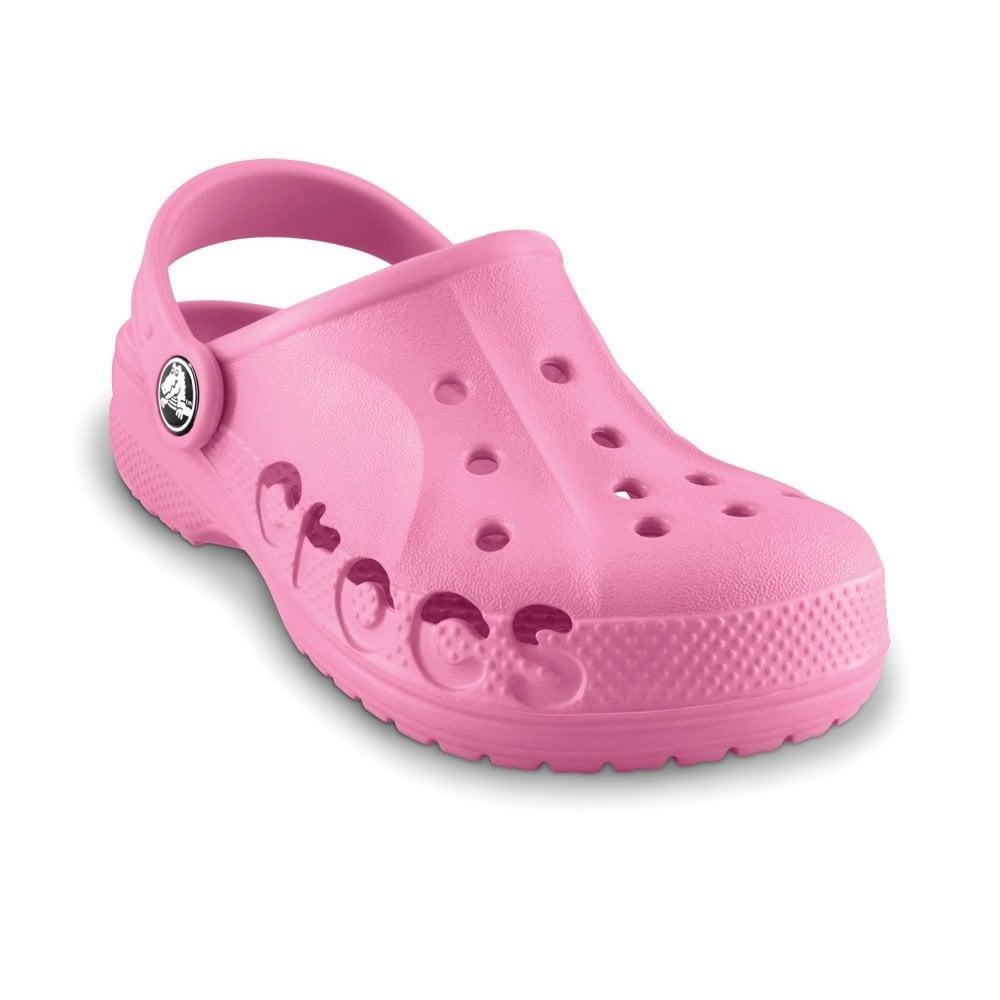4e158fbdaf13 Crocs Kids Baya Shoe Pink Lemonade