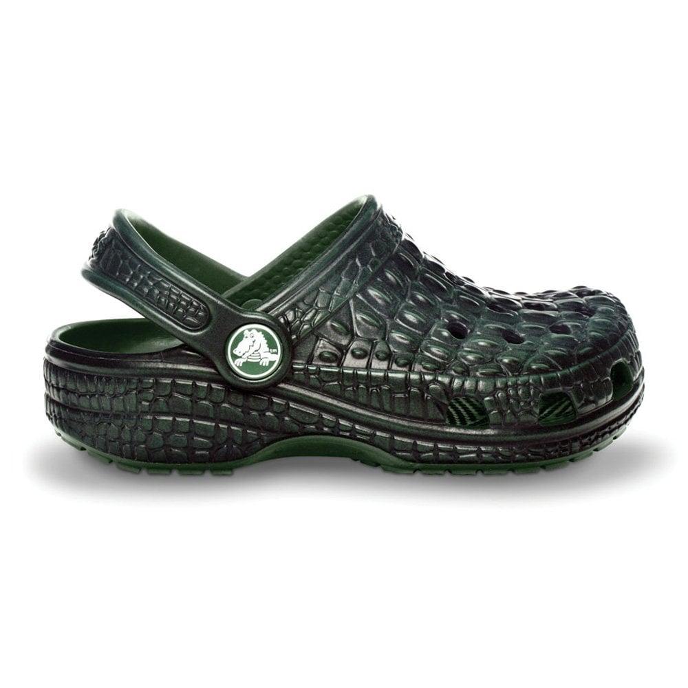 9af1390814369 Kids Crocskin Classic Shoe, Original slip on Crocs with Crocodile look