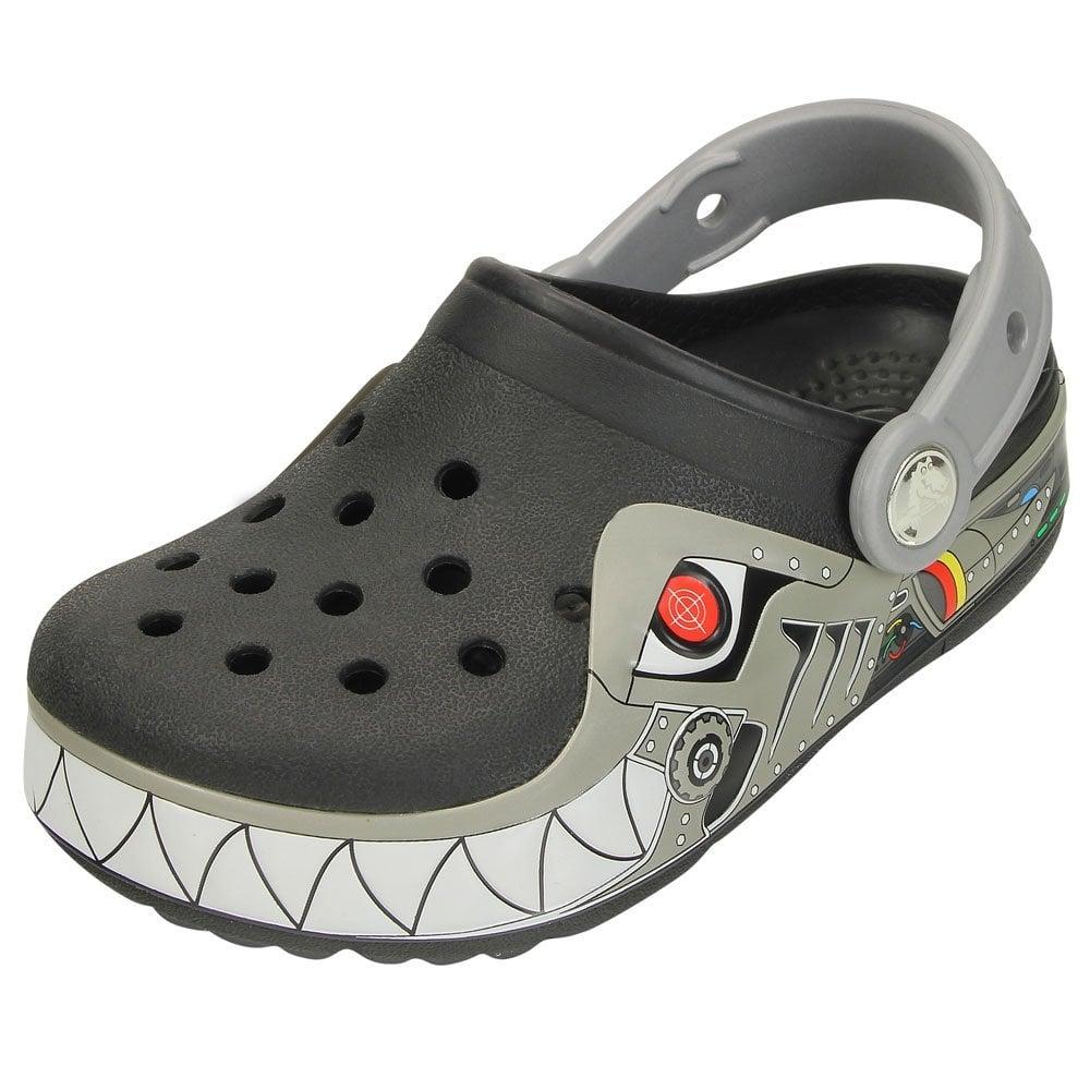 Crocs Kids CrocsLights Robo Shark Clog