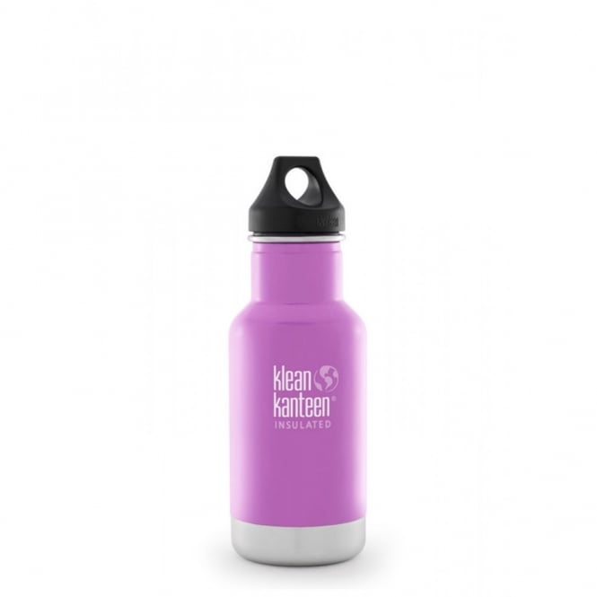 Klean Kanteen 355ml Classic Insulated Meadow Flower, Water Bottle great for on the move
