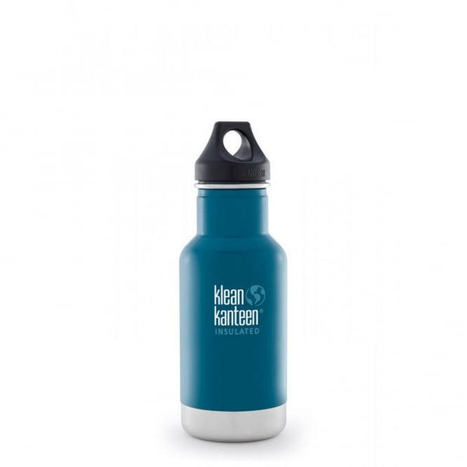 Klean Kanteen 355ml Classic Insulated Winter Lake, Water Bottle great for on the move
