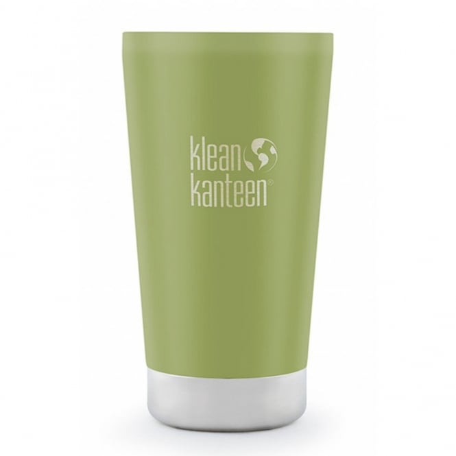 Klean Kanteen 473ml Insulated Pint Cup (USA Pint) Matte Bamboo Leaf, tumbler to suit your beverage needs