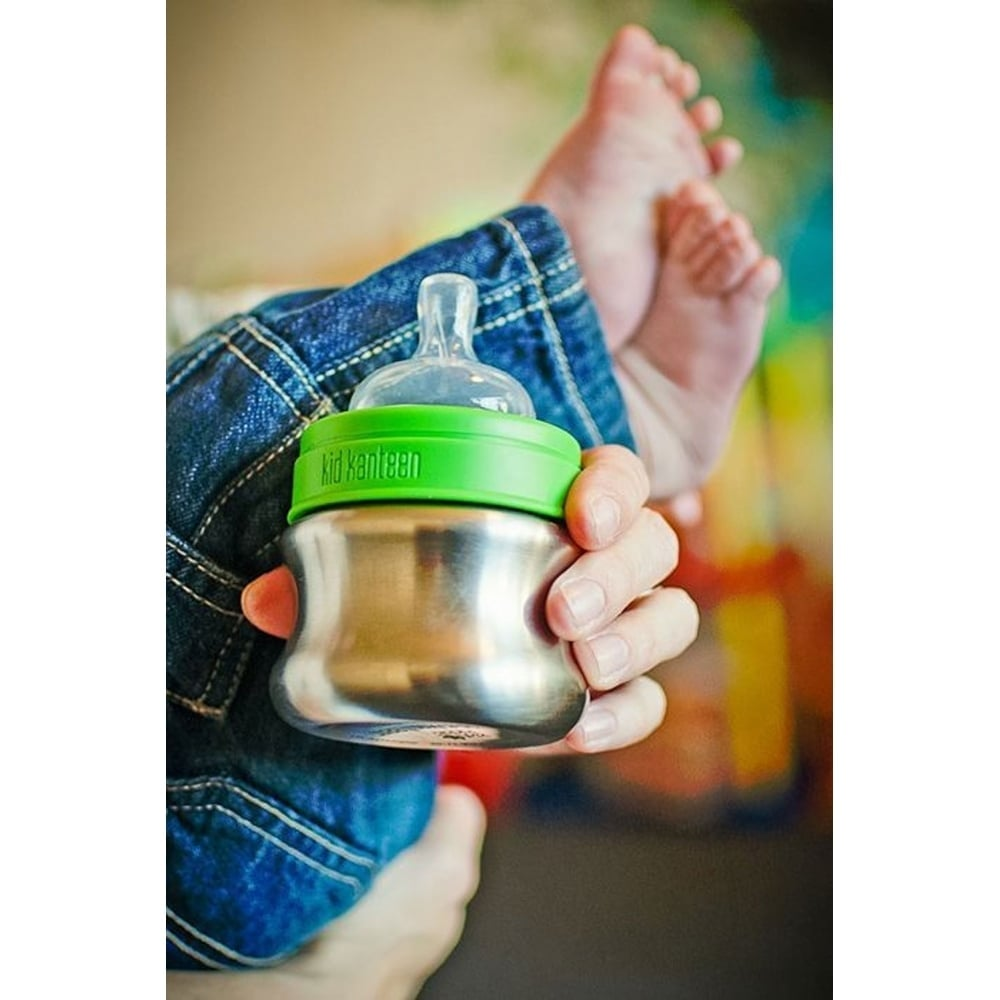 Klean Kanteen Baby Nipples Fast Flow, a medical-grade silicone nipple to  promote proper oral development and healthy teeth