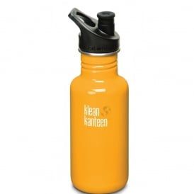 Classic 532ml Sports Cap Flame Orange, Stainless Steel Water Bottle great for on the move