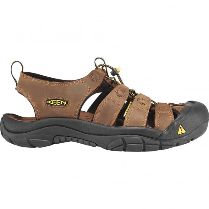 KEEN Mens Newport Bison, the original sandal with secure fit strap and toe bumper