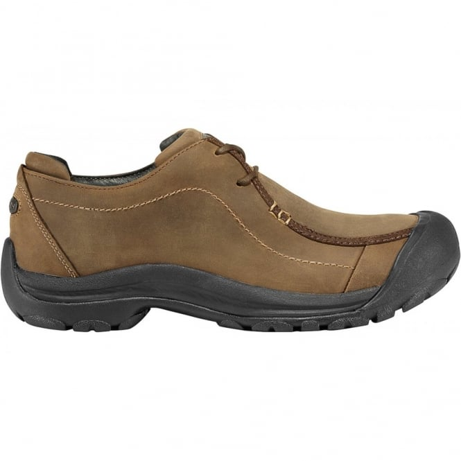 KEEN Mens Portsmouth Bison, Wallabee style with modern, durable personality