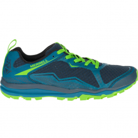 Mens All Out Crush Light Bright Green, light and versatile trail shoe