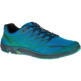 Mens Bare Access 4 Mykonos Blue, zero drop running shoe