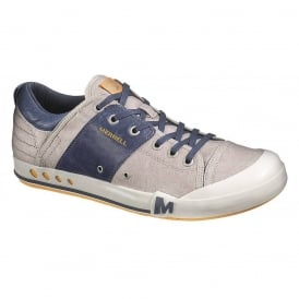 Merrell Rant Aluminum/Navy, Versatile and sophisticated Sneaker