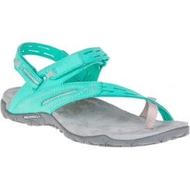 Terran Convertible II Atlantis, breathable mesh & leather sandal