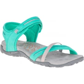 Terran Cross II Atlantis, breathable mesh & leather sandal