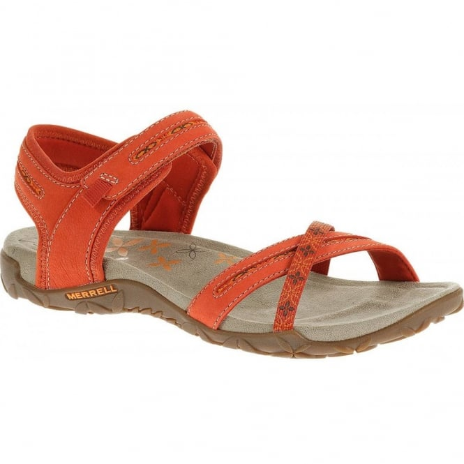 Merrell Terran Cross Red Clay, natural flex and arch support