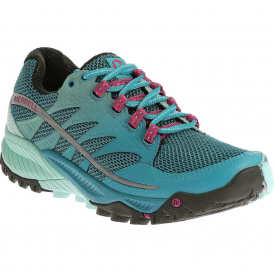Womens All Out Charge Algiers Blue/Adventure, all round trail shoe