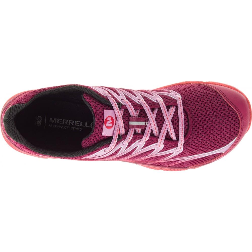 Womens Bare Access Arc 4 Bright Red Zero Drop Running Shoe Women