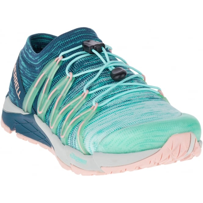Merrell Womens Bare Access Flex Knit Aqua