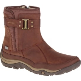 Womens Murren Strap Boot WP Terracotta