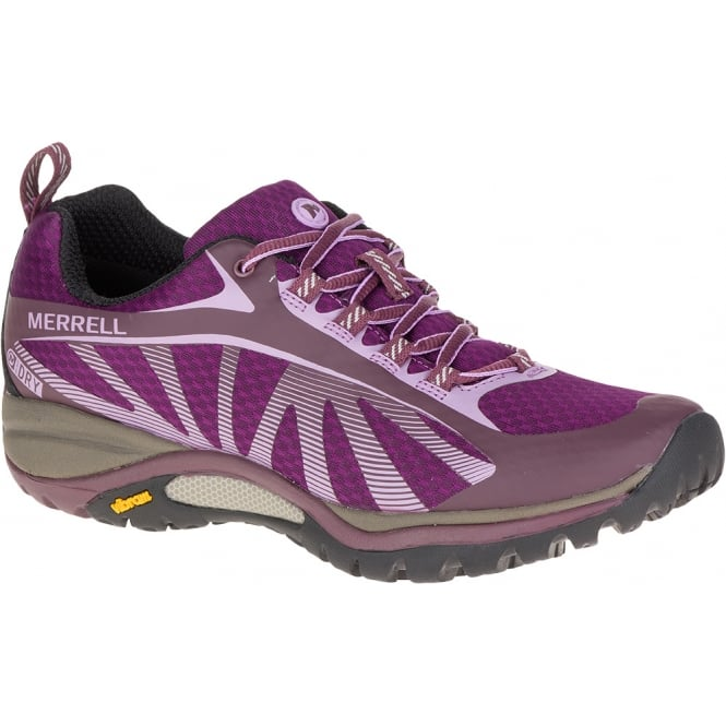 Merrell Womens Siren Edge WP Huckleberry, Waterproof Light Hiker