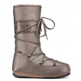 Moon Boots Soft Shade Sand, Waterproof Iconic Boot