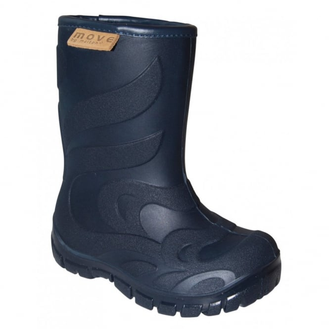 MOVE Thermo Boots Marine, Warm lined lightweight kids boot