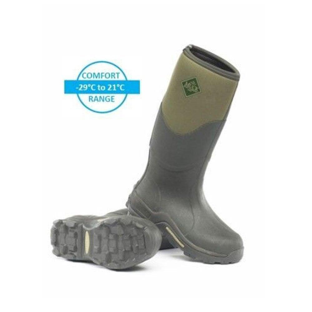 Muck Boots Muckmaster Wellies Moss