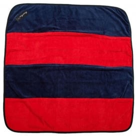 Play 'n' Change Mat Red/Navy, towelling & water resistant backing