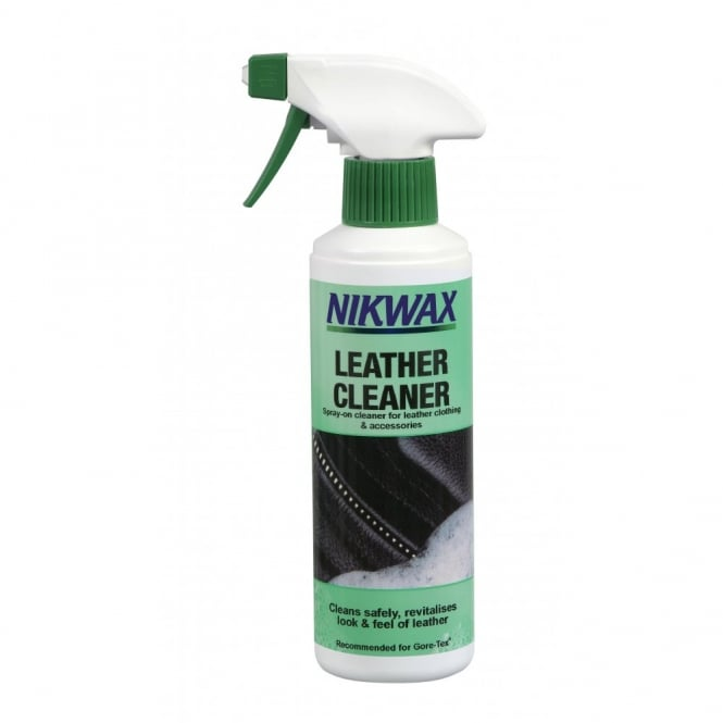 Nikwax Leather Cleaner 300ml, The safe and easy to use cleaner for all waterproof leather clothing, equipment and accessories
