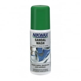 Sandal Wash 125ml, Easy to use deodorising cleaner for all non waterproof footwear