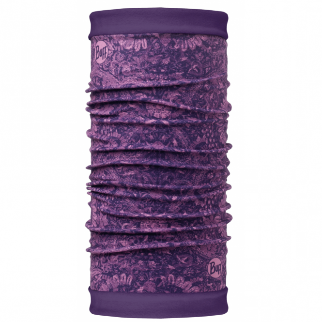 Buff Polar Reversible Ethereal Violet/Wine Berry, 2 Layer cylindrical headgear