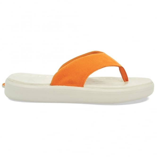 Soft Science Skiff Flip Canvas Orange, supreme comfort & cushioned footwear