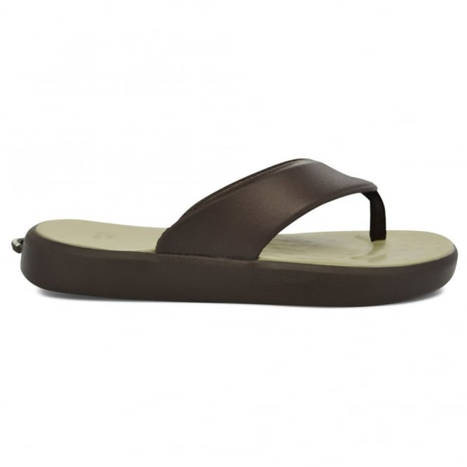 Soft Science Skiff Flip Flop Chocolate/Khaki, supreme comfort & cushioned footwear
