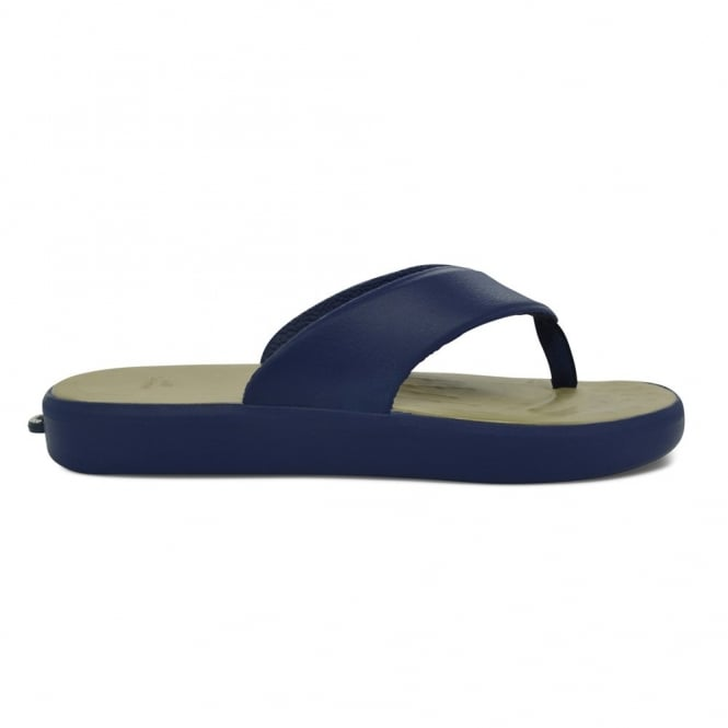 Soft Science Skiff Flip Flop Dark Blue/Khaki, supreme comfort & cushioned footwear