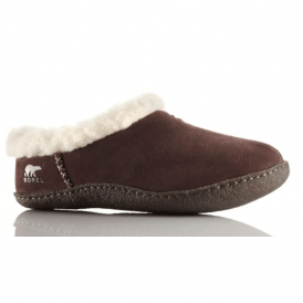 Nakiska Slipper NL1474 Hawk, suede slipper with natural rubber sole