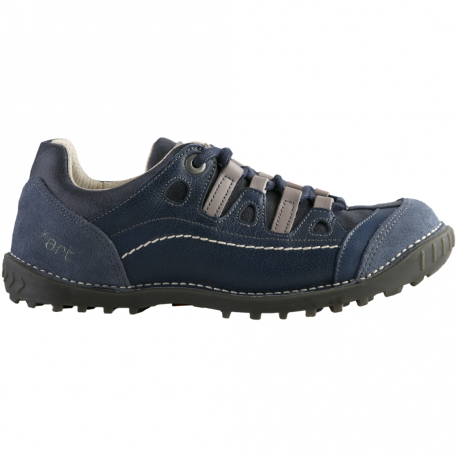 The Art Company 0151 Shotover Shoe Marino, Stylish shoe with suede and sinai panels