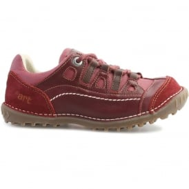0151 Shotover Shoe Rioja Tibet, Stylish shoe with suede and sinai panels