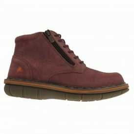 0434 Assen Boot Overland Amarante, Stylish leather ankle boot