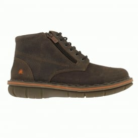 0434 Assen Boot Overland Moka, Stylish leather ankle boot