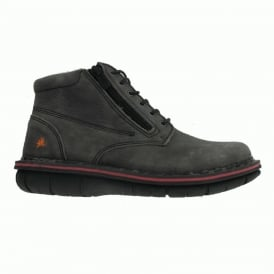0434 Assen Boot Overland Smog, Stylish leather ankle boot