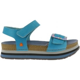 0459 Mykonos Sandal Albufera, Buckle detailed leather uppers