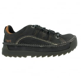 0590 Skyline Shoe Regaliz, Chunky leather lace up shoe